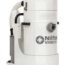 Nilfisk IVS VHW310 AD White Line Industrial Vacuum for Phamaceutical & Food applications