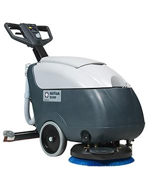 Sale - Nilfisk SC401B Battery Walk Behind Scrubber Dryer