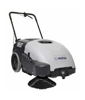 On sale -Nilfisk SW750 Battery Walk Behind Sweeper